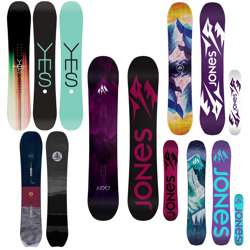 Best All-Mountain Womens Snowboards For Winter 2018